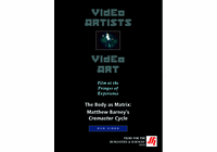 The Body as a Matrix: Matthew Barney's Cremaster Cycle Video (DVD)