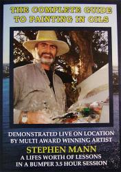 The Complete Guide to Painting in Oils DVD with Stephen Mann - Click to enlarge