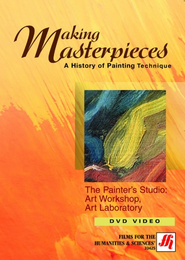 The Painter's Studio: Art Workshop, Art Laboratory Video(VHS/DVD)
