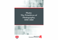 The Primitives of Photography, 1850-1860: Photo  (Enhanced DVD)