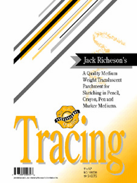 "TRACING PAPER by Jack Richeson and Co. 11"" x 14"". 100 Sheets"