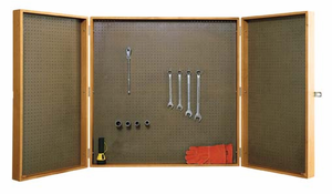 Wall Mounted Tool Storage Cabinet