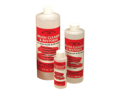 Winsor & Newton Brush Cleaner and Restorer (4 fl. oz.)