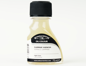 Winsor & Newton DAMMAR VARNISH 500ml, 16.9 US fl. oz - Click to enlarge