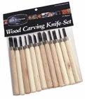 Wood Carving Knife Set (12 Pieces)