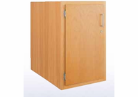 Wood Low Base - single door-10