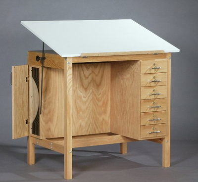 SMI Wooden Drafting Table - Click to enlarge