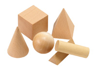 Wooden Geometric Solids