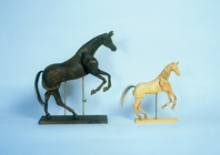 WOODEN PONY MANIKIN