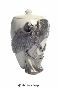 Large Angel's Embrace Cremation Urn