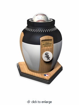 Chicago White Sox Major League Baseball Cremation Urn