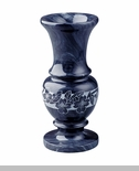 Dogwood Black Marble Flower Vase
