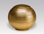 Gold Sfera Porcelain Cremation Urn