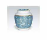 Heavenly Blue Classica Porcelain Keepsake Cremation Urn