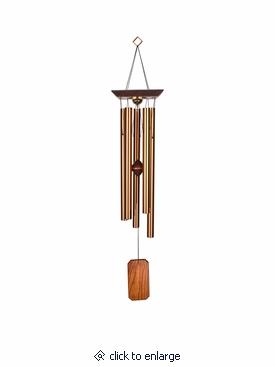 Large Reflections Memorial Wind Chime Cremation Urn