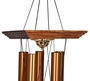 Large Reflections Memorial Wind Chime Cremation Urn with Engraving