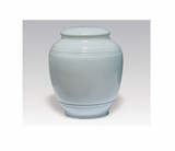 Light Blue Classica Porcelain Keepsake Cremation Urn