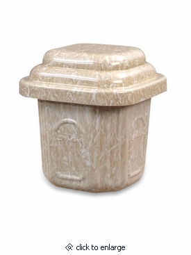 McCord Top-Seal Cremation Urn Burial Vault - Large