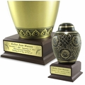 Personalized Pedestals for Cremation Urns