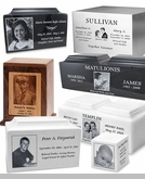 Photo Laser Engraved Urns