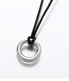 Sterling Silver Eternity Necklace Cremation Jewelry