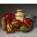 Steve Shannon Wood Cremation Urn Collection