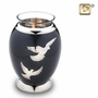 Tealight Candle Nirvana Adieu Brass Keepsake Cremation Urn