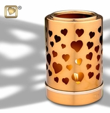 Tealight Candle Reflections of Love Brass Keepsake Cremation Urn