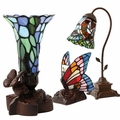 Tiffany Style Lamp Keepsake Cremation Urns