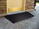 EZ - Access 2.5 inch Beveled Rubber Threshold Ramp