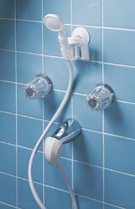 Hand Held Portable Shower Converts Tub Spout To A Shower
