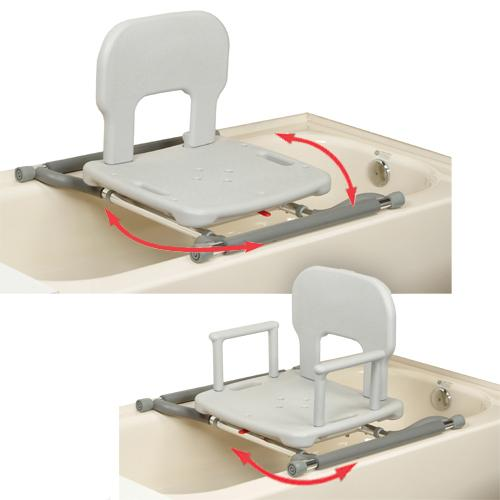 tub mounted swivel shower seat swivel bath seat