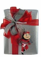 Buckeyes with Brutus Ornament Quarter Pound