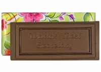Secretary Chocolate Bar - 4.75 oz.