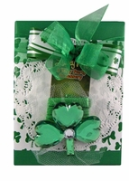 Shamrock Necklace Half Pound