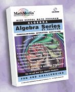 Algebra By Chapter Series - License for up to 30 Computers
