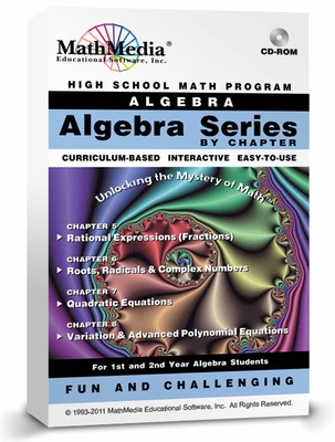 Algebra Software By Chapter<br>2nd Semester Bundle (Ch 5 - 8)