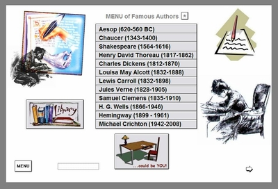 Authors SubMENU