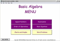 Basic Algebra Learning Section