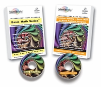 Basic Math Series + Word Problems<br>(Set of 6 skills programs)<br>License for up to 20 Computers
