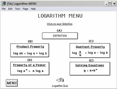 Comprehensive Log Section