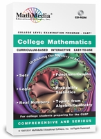 Download CLEP College Mathematics Now! ($89)