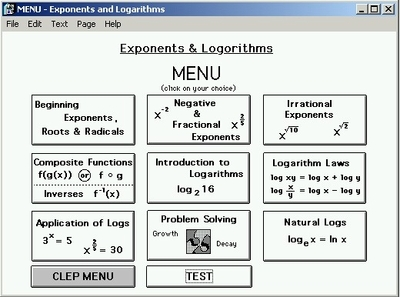 Exponents & Logarithms