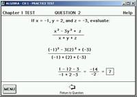Practice Test - Solutions