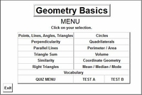 Program 5: Geometry Basics (Intro Geometry)
