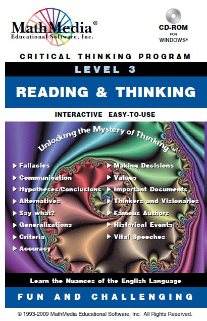 reading and critical thinking pearson Articles on critical thinking incorporating critical thinking skills development into esl/esl courses this article is specifically for esl classes.