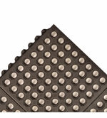 662 Cushion-Ease Antibacterial Perforated Anti-Fatigue