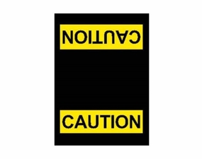 Caution Safety Message Floor Mats