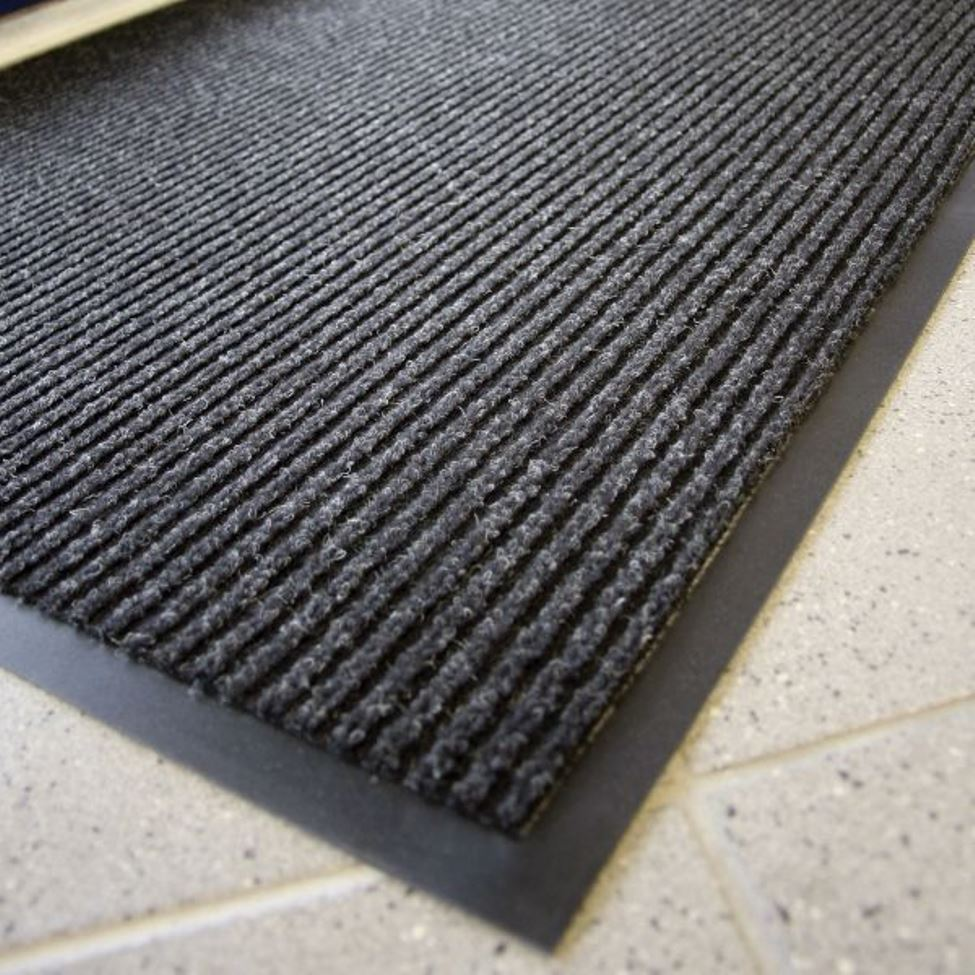 Rubber floor mats for wet areas - Heritage Rib Mats 117 Heritage Rib Mats 117