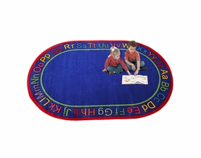 Know Your ABC's Educational Classroom Rug